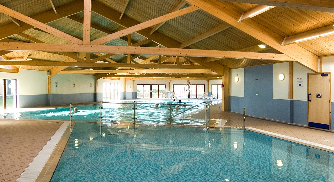 Amble Links Holiday Park Northumberland Commercial Pool