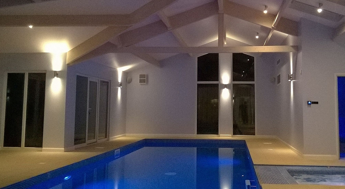 Bespoke pool buildings for Building an indoor swimming pool